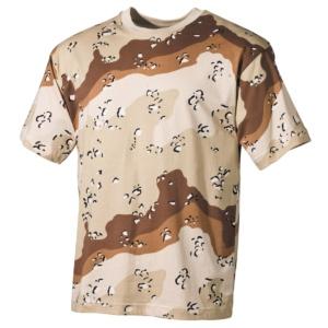 Tričko maskovacie desert MFH