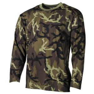 Klasické vojenské tričko dlhý rukáv vz. 95 MFH