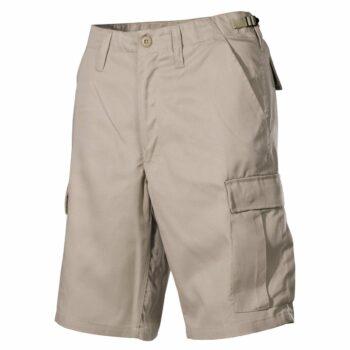 Krátke nohavice BDU khaki MFH