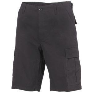 Krátke nohavice BDU čierne MFH