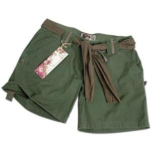 Dámske krátke nohavice zelené Mil-Tec