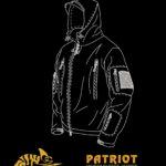 Bunda Patriot shadow grey Helikon-Tex
