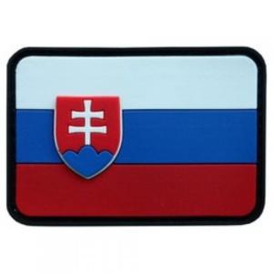 Nášivka vlajka 3D Slovensko