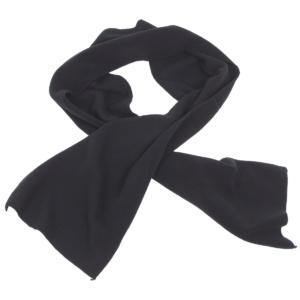 Fleecový šál 160x25 cm čierny MFH