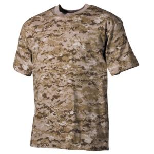 Tričko vzor Digital Desert MFH
