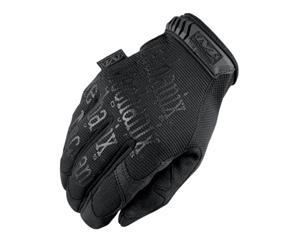 Mechanix Wear Covert Original Rukavice Čierne