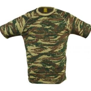 Tričko maskovacie Fatlock green camo Pentagon