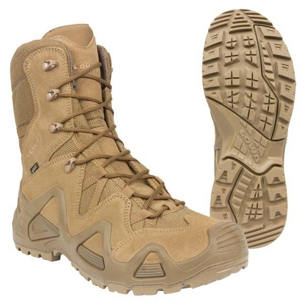 021b69584 Taktická obuv Zephyr GTX Hi TF coyote Lowa.