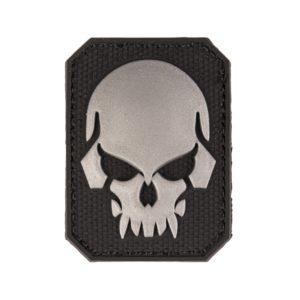 Mil-Tec Nášivka Skull Čierna