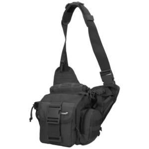 37bdeb4f7 Texar Commander taška na rameno Čierna