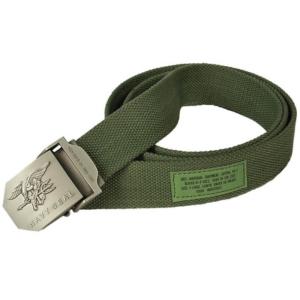 Bavlnený Opasok Navy Seal Zelený Texar