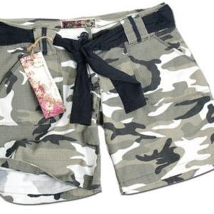 Dámske krátke nohavice vzor Urban Rip/stop Mil-tec