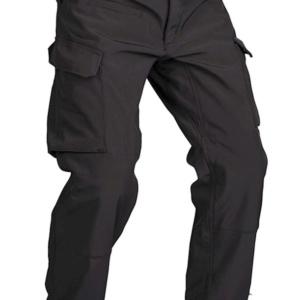 Nohavice Explorer softshell zateplené čierne Mil-Tec