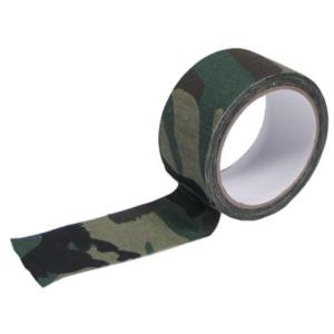 Textilná lepiaca páska woodland MFH