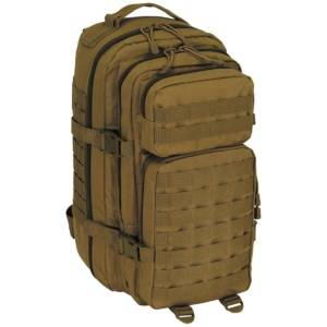 MFH Assault I Basic 30 L ruksak Coyote