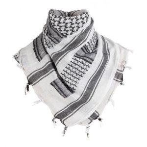 MFH Šatka Arafatka Bielo/Čierna