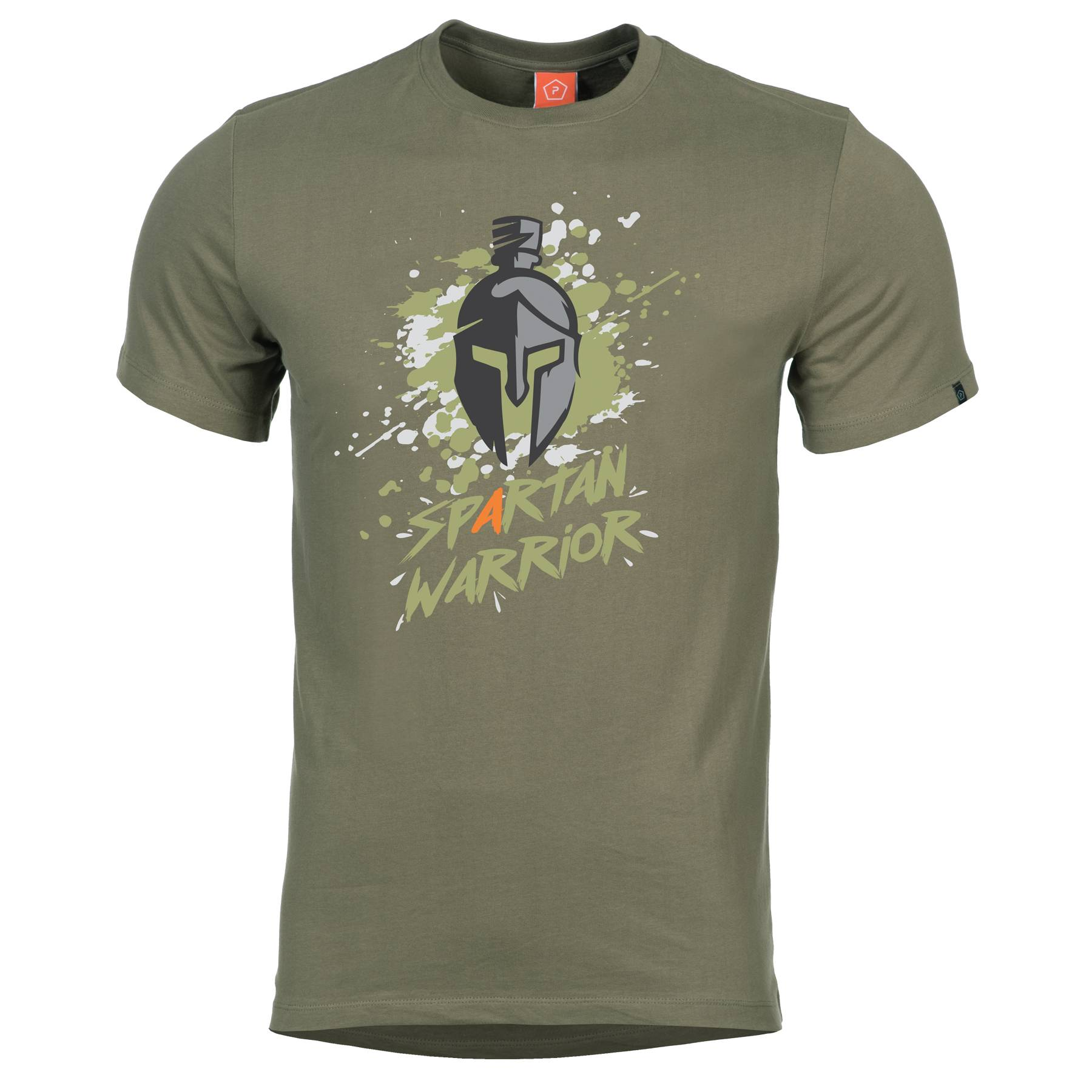 839b241a7 Pentagon Spartan Warrior tričko Olivové - HORAL shop