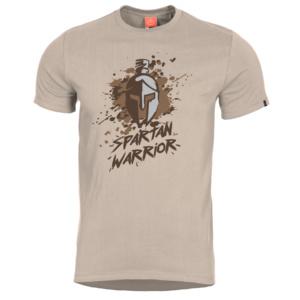 Tričko Spartan Warrior Khaki Pentagon