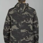 Bunda Luke Windbreaker Darkcamo