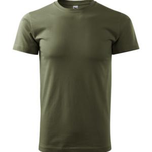Tričko bavlnené 200 g extra,tmavo zelené, Adler