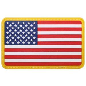 Nášivka, 3D, USA, 8 X 5 cm, MFH