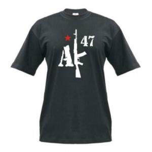 Tričko,AK-47,Čierne