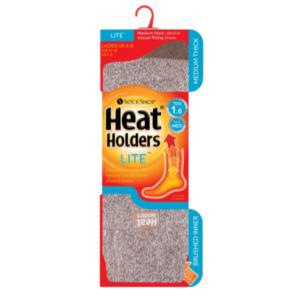 Heat Holders 1.6 Dámske Termo Ponožky Hnedé
