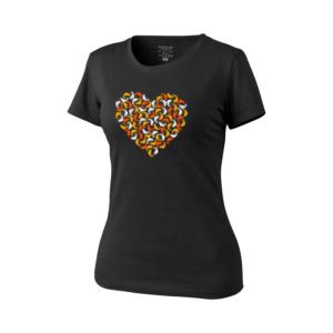 Dámske tričko Chameleón srdce Helikon-Tex