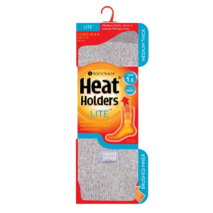 Heat Holders 1.6 Dámske Termo Ponožky Šedé