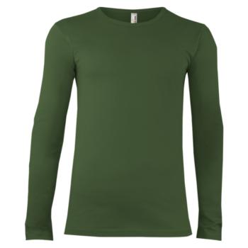 Alex Fox Tričko Dlhý Rukáv Zelené