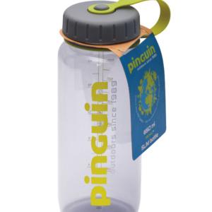 Fľaša Tritan Slim Bottle 0,65L Grey Pinguin