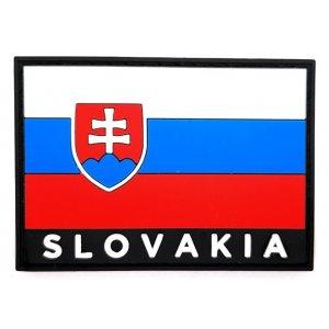 Nášivka Patch 3D vlajka Slovakia