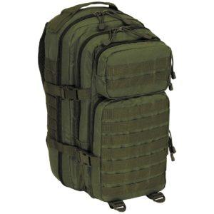 MFHBatoh Assault I Basic 30 L Olivový