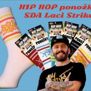 Hip Hop ponožky SDA Laci Strike