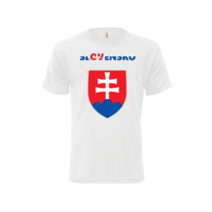 Alex Fox Tričko Slovensko Biele