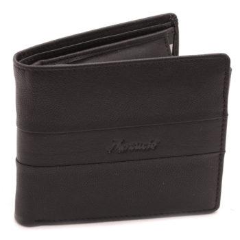 Kožená Peňaženka Kozia Čierna