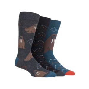 Pánske Ponožky Walrus - Mrož 3 Páry