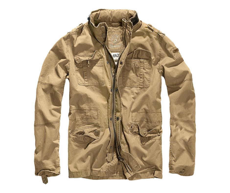BranditBritannia Jacket Bunda Camel
