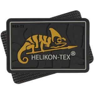Helikon-Tex Nášivka Logo Chameleón Čierna