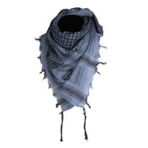 Mil-Tec Šatka Arafatka Bavlnená Modro Čierna