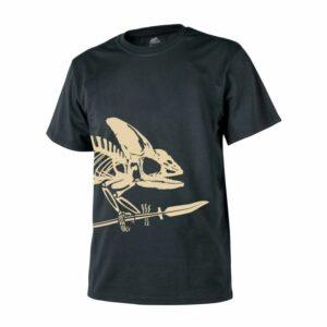 Helikon-Tex Tričko Full Body Skeleton Čierne