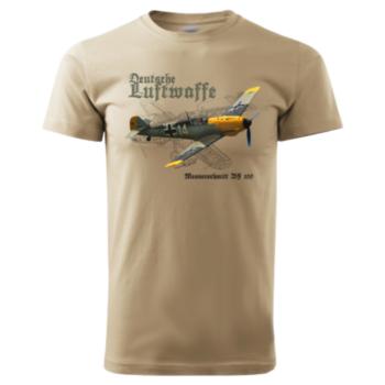 Deutsche Luftwafe Tričko Bavlnené